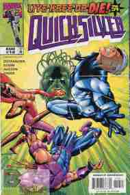 """Yesterday's"" Comic> Quicksilver #10 (Live Kree Or Die part 3)"