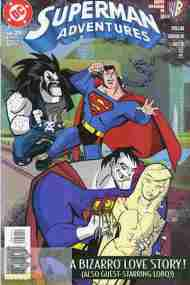 """Yesterday's"" Comic> Superman Adventures #29"