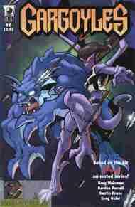 """""""Yesterday's"""" Comic> Gargoyles #6(SLG)"""