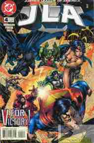 """Yesterday's"" Comic> JLA #4"