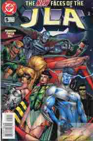 """Yesterday's"" Comic> JLA #5"