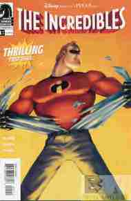 """Yesterday's"" Comic> The Incredibles (movie adaptation) #1"