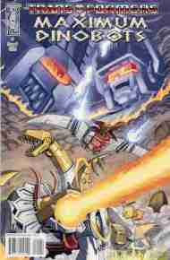 """Yesterday's' Comic> Transformers: Maximum Dinobots #1"