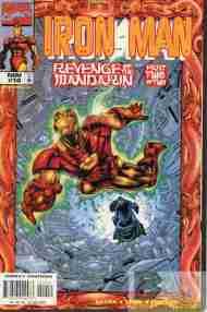 """Yesterday's"" Comic> Iron Man vol. 3#10"