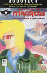 """Yesterday's"" Comic> Robotech: Return To Macross #15/Warriors #0 flipbook"