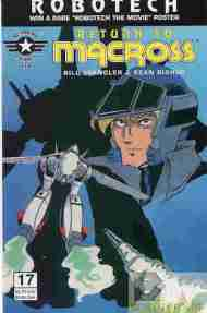"""Yesterday's"" Comic> Robotech: Return To Macross #17"
