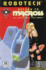 """Yesterday's"" Comic> Robotech: Return To Macross#18"