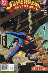 """Yesterday's"" Comic> Superman Adventures #32"