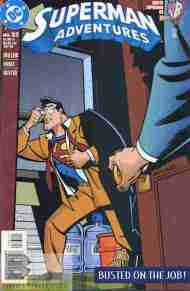 """Yesterday's"" Comic> Superman Adventures #33"