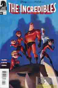 """Yesterday's"" Comic> The Incredibles (adaptation) #4"