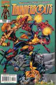"""Yesterday's"" Comic> Thunderbolts #20"
