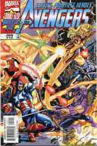 """Yesterday's"" Comic> Avengers vol. 3 #12"