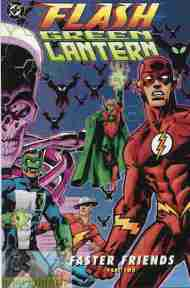"""Yesterday's"" Comic> Flash/Green Lantern: Faster Friends part 2"