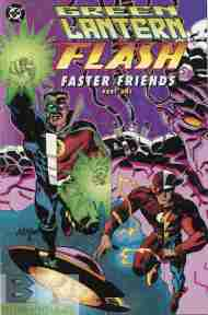 """Yesterday's"" Comic> Green Lantern/Flash: Faster Friends part 1"