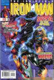 """Yesterday's"" Comic> Iron Man vol. 3 #12"