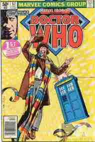 """Yesterday's"" Comic> Marvel Premiere #57 (featuring Doctor Who)"