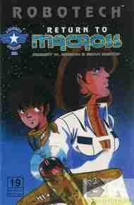 """Yesterday's"" Comic> Robotech: Return To Macross#19"