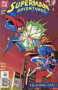 """Yesterday's"" Comic> Superman Adventures #34"