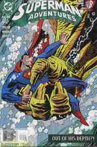 """Yesterday's"" Comic> Superman Adventures #35"