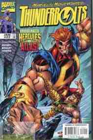 """Yesterday's"" Comic> Thunderbolts #22"