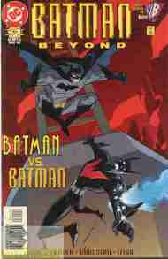 """Yesterday's"" Comic> Batman Beyond #1 (DCAU ongoing)"