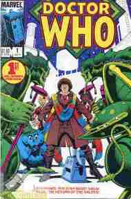 """Yesterday's"" Comic> Doctor Who #1 (Marvel US)"