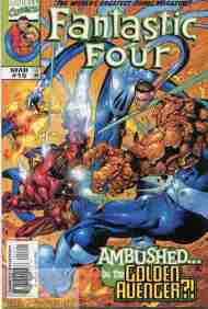 """""""Yesterday's"""" Comic> Fantastic Four vol. 3#15"""