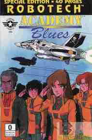 """Yesterday's"" Comic> Robotech: Academy Blues #0"