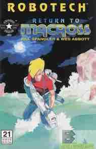 """Yesterday's"" Comic> Robotech: Return To Macross#21"