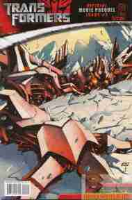 """Yesterday's"" Comic> Transformers: Movie Prequel #2"