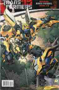 """Yesterday's"" Comic> Transformers: Movie Prequel #3"