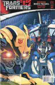 """Yesterday's"" Comic> Transformers: Movie Prequel Special"