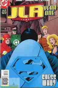 """Yesterday's"" Comic> JLA: Year One#3"