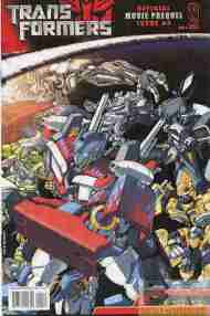 """Yesterday's"" Comic> Transformers Movie Prequel #4"