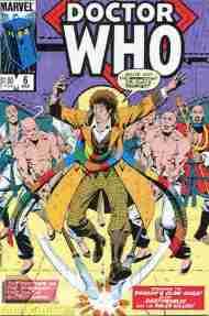 """Yesterday's"" Comic> Doctor Who #6 (MarvelUS)"