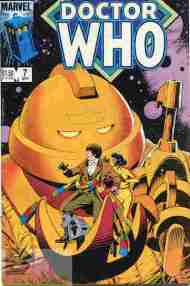 """Yesterday's"" Comic> Doctor Who #7 (Marvel US)"
