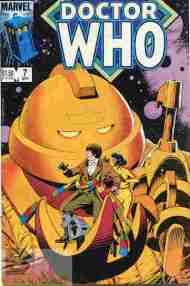 """Yesterday's"" Comic> Doctor Who #7 (MarvelUS)"
