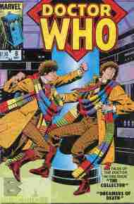 """Yesterday's"" Comic> Doctor Who #8 (Marvel US)"