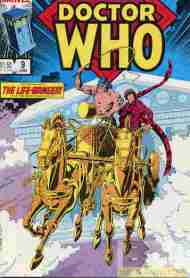 """Yesterday's"" Comic> Doctor Who #9 (Marvel US)"