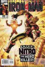 """Yesterday's"" Comic> Iron Man Vol. 3#15"