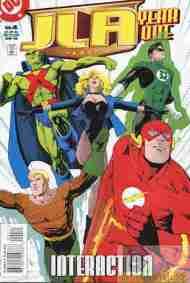 """Yesterday's"" Comic> JLA: Year One#4"
