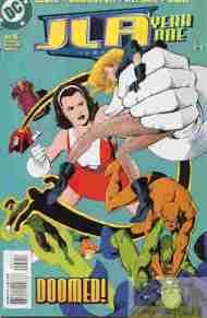 """Yesterday's"" Comic> JLA: Year One#5"