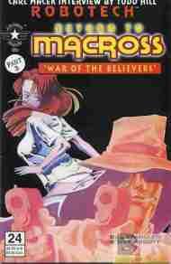 """Yesterday's"" Comic> Robotech: Return To Macross#24"
