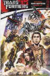 """Yesterday's"" Comic> (Michael Bay's) Transformers Movie Adaptation #1"