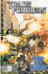 """Yesterday's"" Comic> Transformers: Saga Of The All-Spark #2"