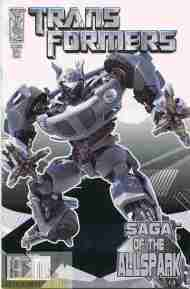 """""""Yesterday's"""" Comic> Transformers: Saga Of The All-Spark#3"""
