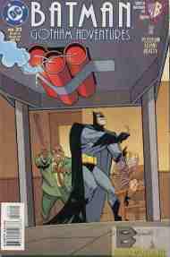 """Yesterday's"" Comic> Batman: Gotham Adventures#21"