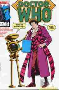 """Yesterday's"" Comic> Doctor Who #10 (Marvel US)"