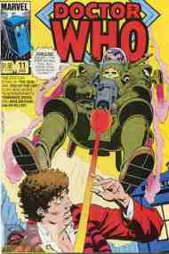 """Yesterday's"" Comic> Doctor Who #11 (MarvelUS)"