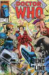 """Yesterday's"" Comic> Doctor Who #12 (Marvel US)"
